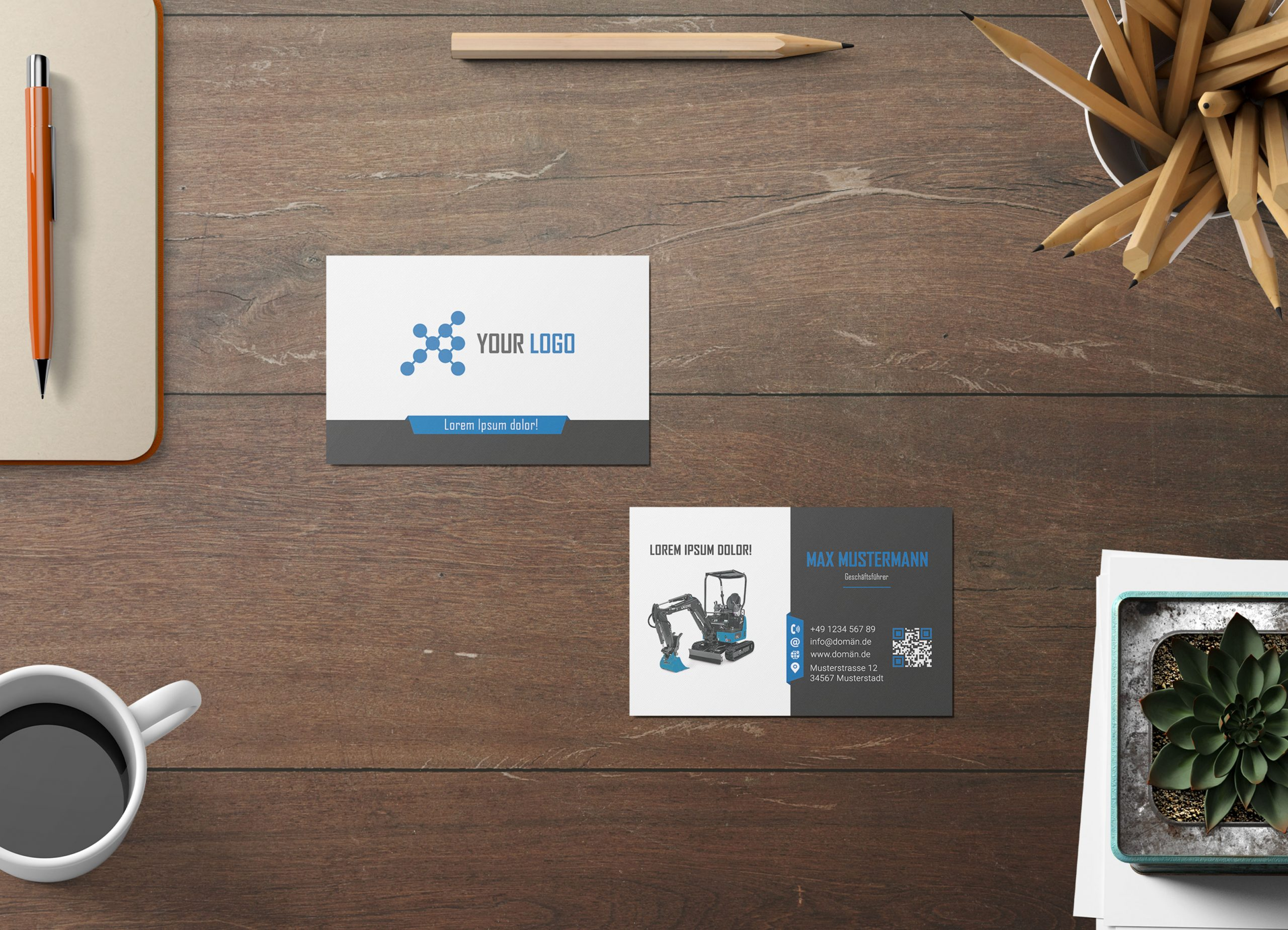 Business-Cards-Gallery-image-blue-exavator