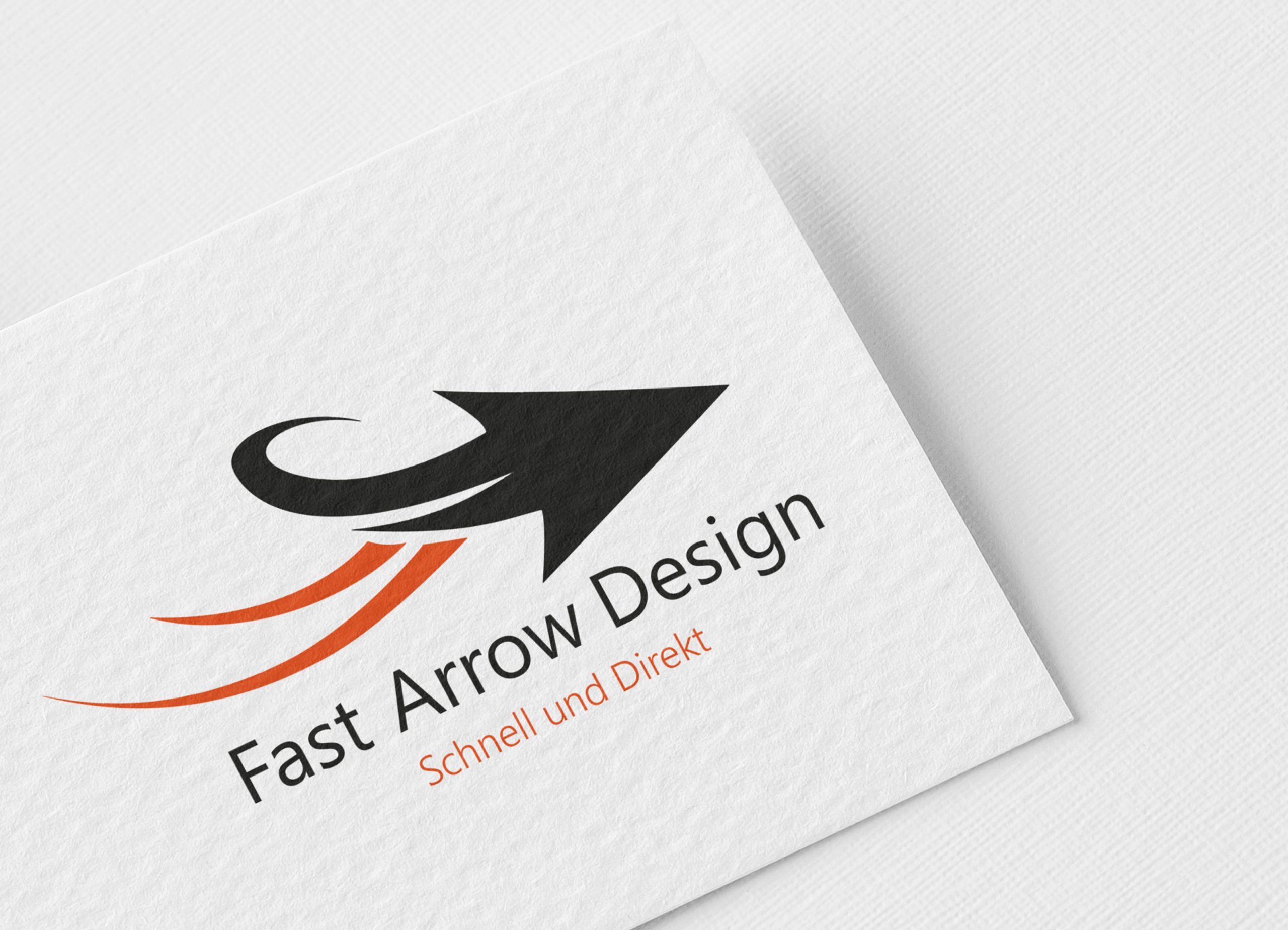 Fast-Arrow-Design-Logo-Template