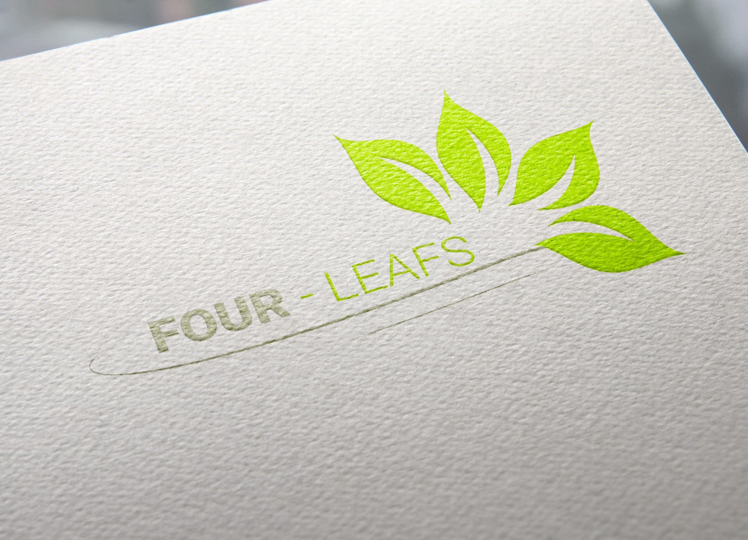 Four-Leafs-Logo-Template