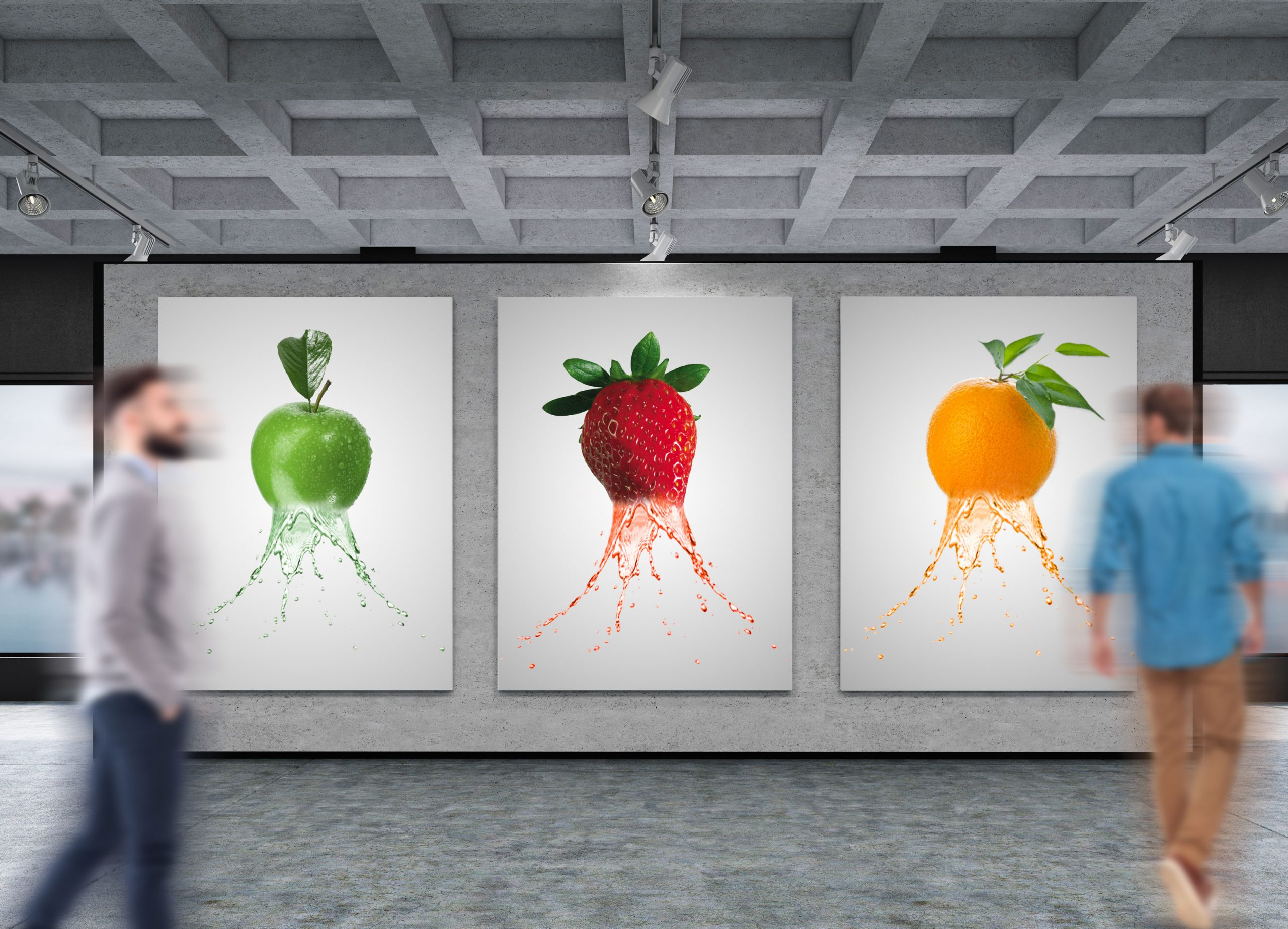 Poster-Gallery-splashing-fruits