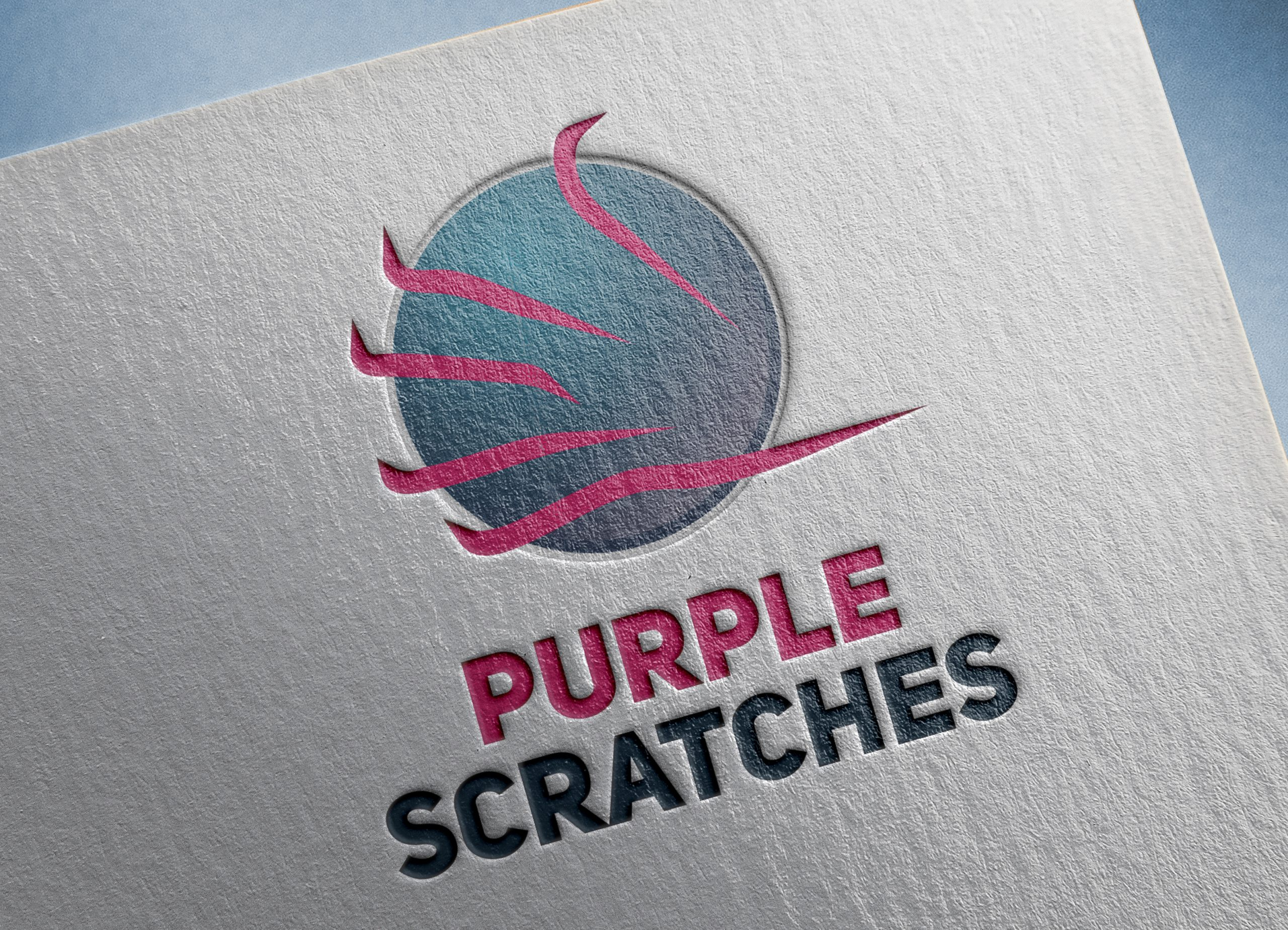 Purple-Scratches-logo-Template