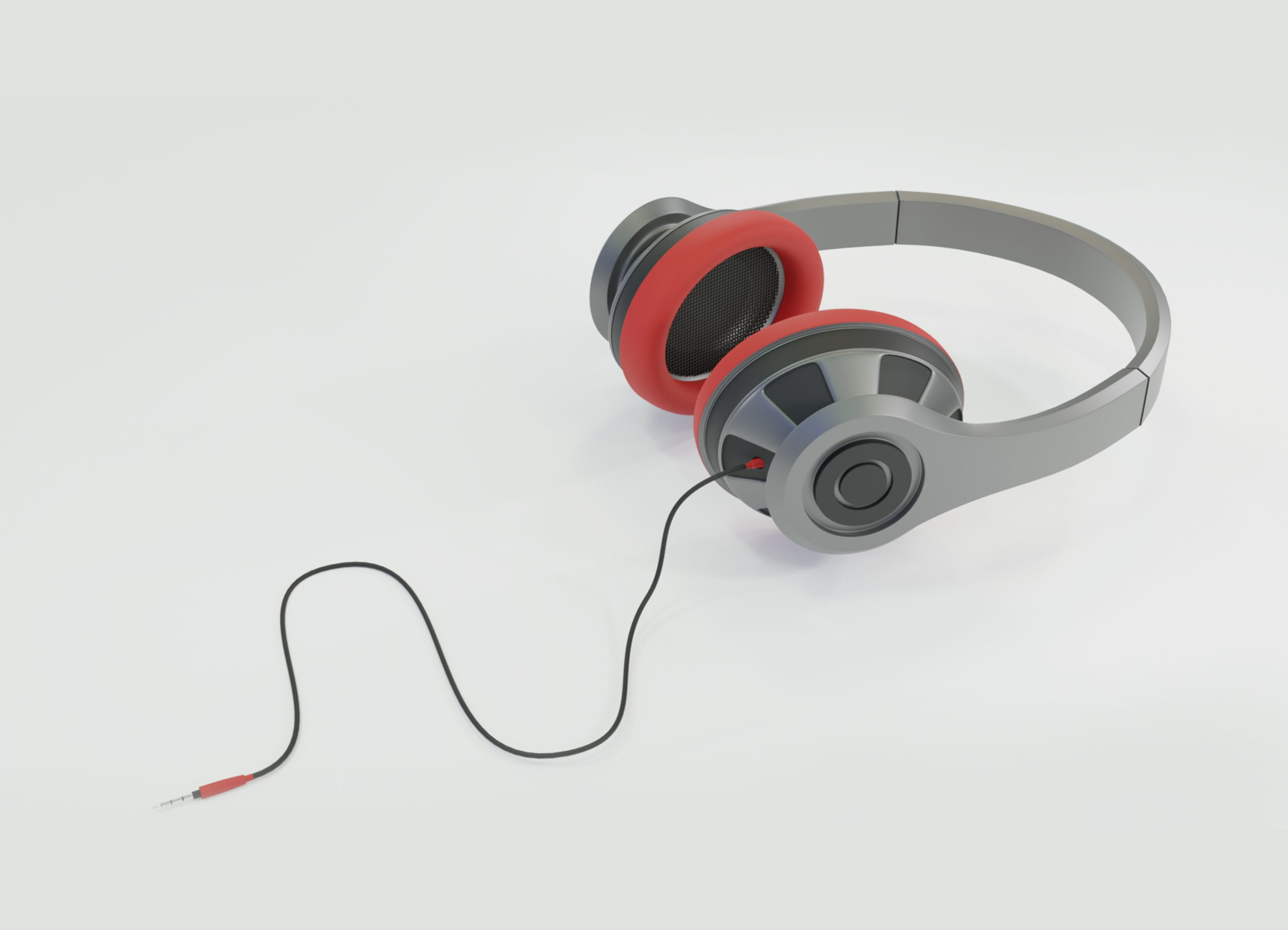 Blender-Red-Headphones